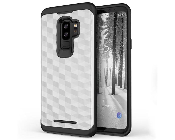 Zizo Prism Series Protective Case Silver / Black (Samsung Galaxy S9 Plus)