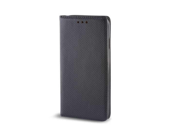 Forcell Smart Book Case με Δυνατότητα Stand Θήκη Πορτοφόλι Μαύρη (ZTE Blade V7 Lite)